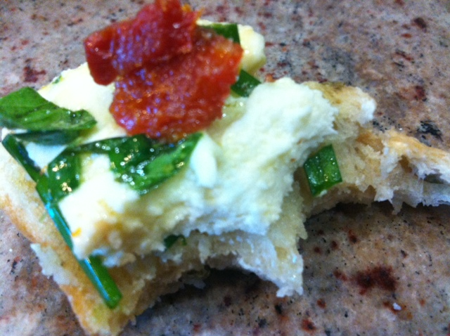 marinated moz cheese